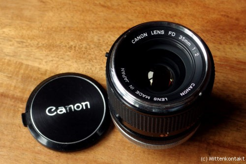 Canon FD 2/35