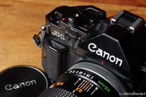 Canon FD 2/35 an der A-1