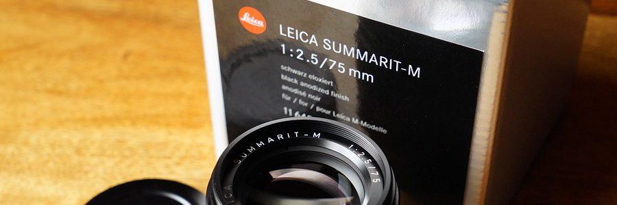 Leica Summarit 2.5/75